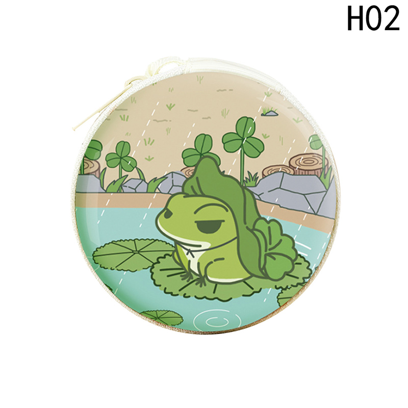 2018 New Frog Style Coin Purse Women Small Tin Wallet Bags Cartoon Cute Frog Money Case Earphone Holders