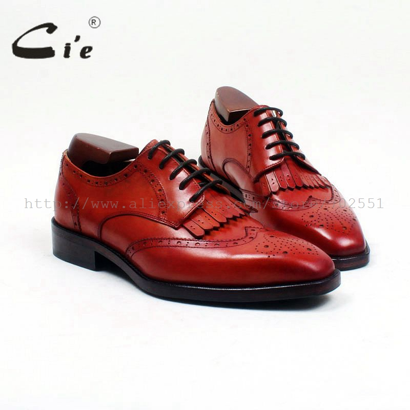 cie Free Shipping Custom Bespoke handmade calf leather upper with markline calf leather outsole Goodyear derby  shoe NO.TZ1038 купить часы haas lt cie mfh211 zsa