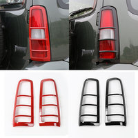 2PCS ABS Car Styling Tail Lights Cover Rear Lamp Trim Guards Exterior Accessories For SUZUKI Jimny Free Shipping New