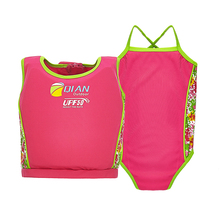 ФОТО new children life jacket for 3-8 years old kids life vest to learn swimming equipment floating clothes large buoyancy vest