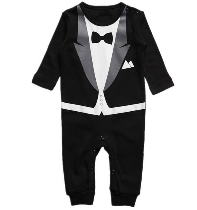 ᗑРозничная продажа одежда для малышей галстук печати ...