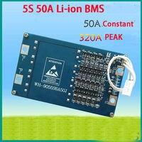 5 S 50A 18.5 V 21 V li-ione di Litio BMS PCM batteria protezione Charger consiglio W/balance Temperatura