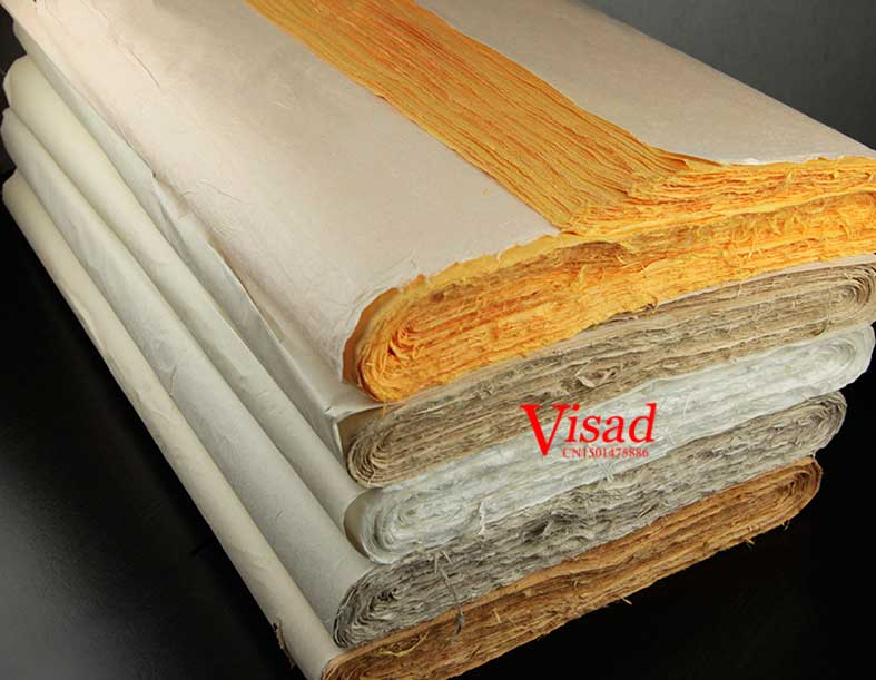 Colorful Chinese Painting paper Yunlong rice Paper for Artist calligraphy painting Writing xuan paper