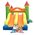 YARD Large Bouncy Castle Dual Slide Outdoor Inflatable Trampoline for Kids Birthday Party Special Offer for European Countrie