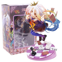 Anime No Game No Life Shiro White Generation Poker 1/8 Scale PVC Figure Collectible Model Toy 18cm