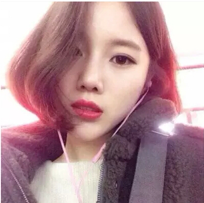 Korean Girl Short Hair