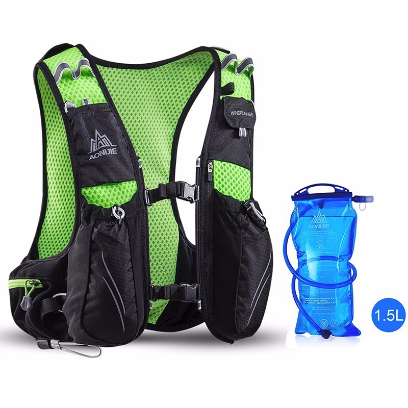 AONIJIE 10L Running Backpack mochila Trail Racing Hydration Vest Pack Outdoor Sport Hiking Running Hydration Backpack Water Bag
