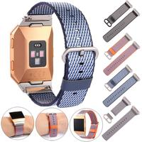 New Release Sports Royal Woven Nylon Bracelet Strap Band For Fitbit Ionic OC23 Drop shipping