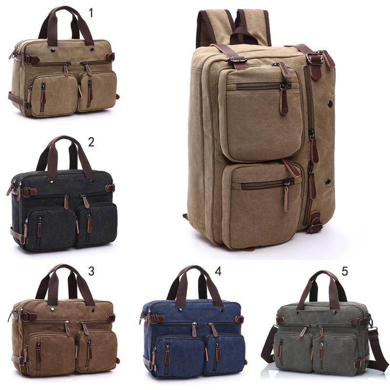 Casual 3 in 1 Multifunction Men Backpack Bagpack Canvas Laptop Backpacks For Women Men Boys Travel