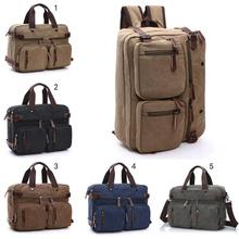 Casual 3 in 1 Multifunction Men Backpack Bagpack Canvas Lapt