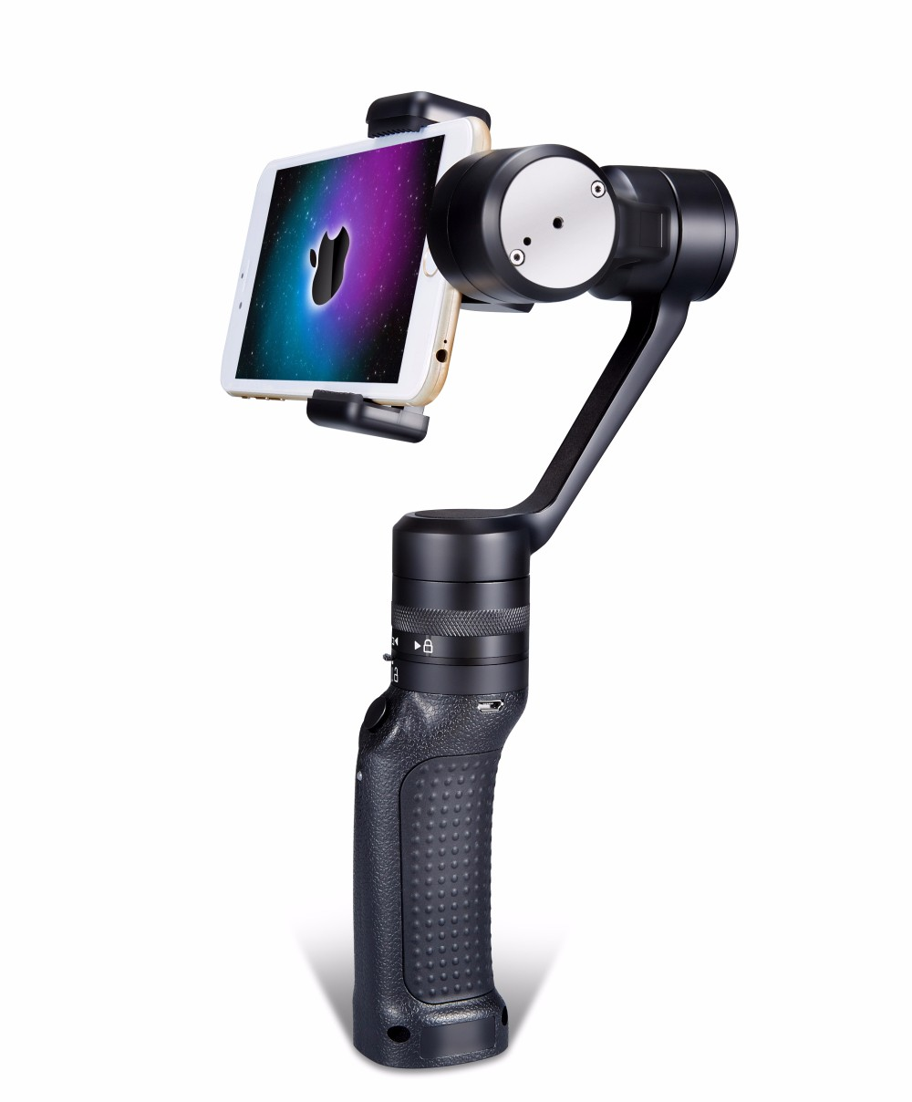 Wewow P3 3 Axis Handheld Brushless Stabilizer Gimbal PTZ for Smart Phones Iphone FPV Photograpphy F19363 2015 hot sale quadcopter 3 axis gimbal brushless ptz dys w 4108 motor evvgc controller for nex ildc camera