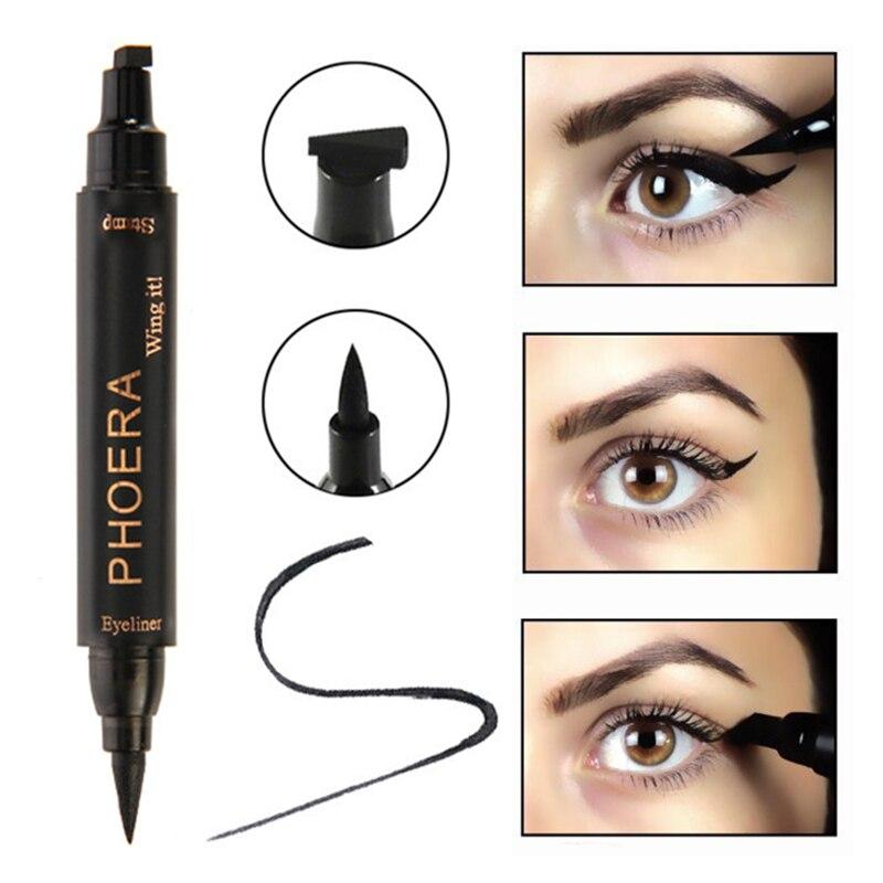 Back To Search Resultsbeauty & Health Eyeliner Eyeliner Eye Makeup Tool Double Head Waterproof Seals Long-lasting Eyeliner Black Pencil Eyeliner Profissional Completa Tslm1 Durable Service