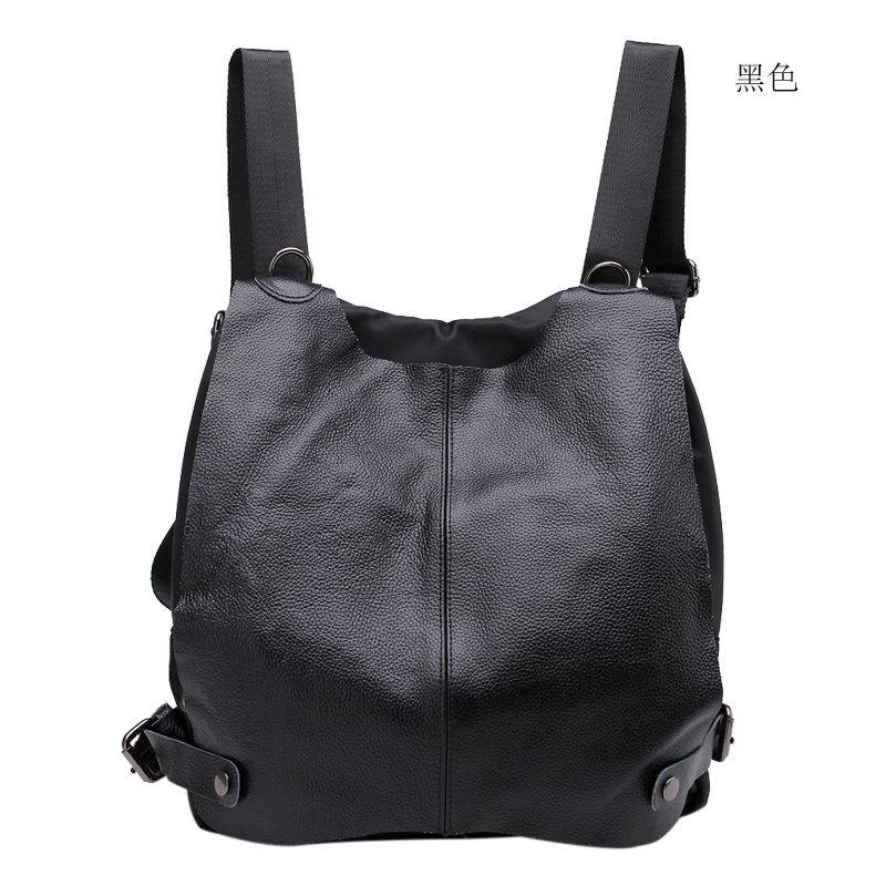 Backpack Women Genuine Leather Bag Women Bag Cow Leather Women Backpack Mochila Feminina School Bags for Teenagers Free Shipping miwind new backpack women school bags for teenagers mochila feminina women bag free shipping leather bags women leather backpack