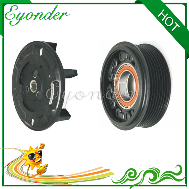 AC Air Conditioning Compressor Electromagnetic Magnetic Clutch Pulley PV7 for MERCEDES BENZ W221 S65 S320 S600 C216 CL65 CL600