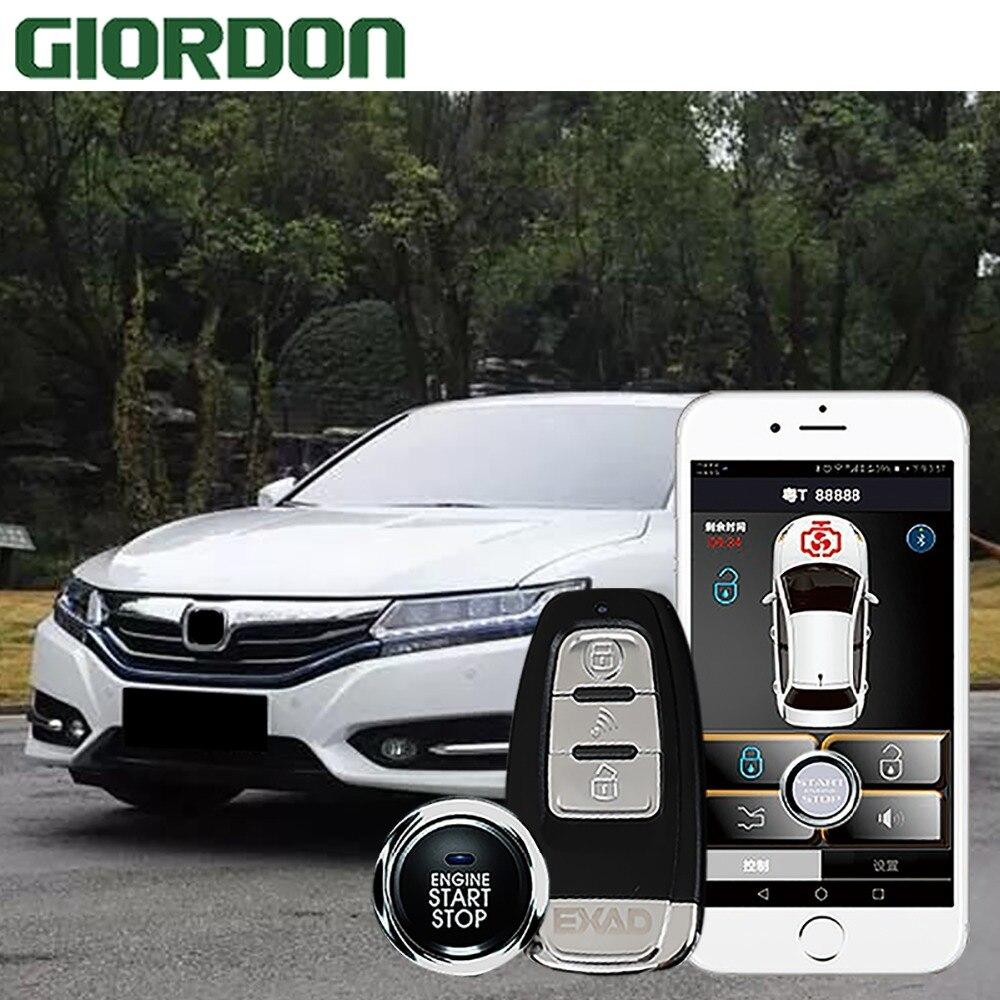 Entrée automatique sans clé pour le système d'alarme de voiture de ville 2015 chrysler bouton poussoir avec clé intelligente démarrage à distance verrouillage Central à distance