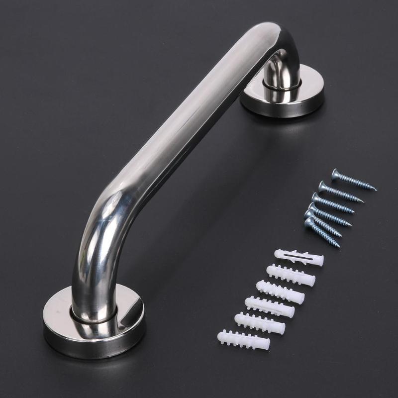 30cm 304 Stainless Steel Bathroom Bathtub Toilet Handrail ...