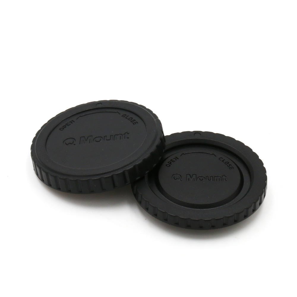 new arrive 10 pair Rear Lens Cap/Cover+Camera Body Cap for Pentax Q mount Q-S1 Q7 Q10 camera lens free shipping