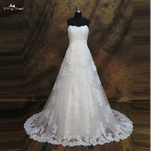 yiaibridal RSW285 Crystal Appliques Wedding Dress