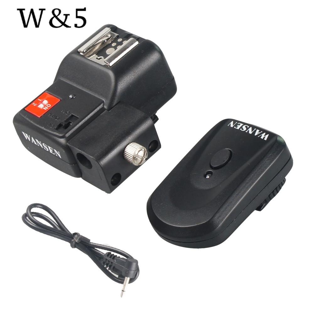 Wansen PT-04NE 4 canales inalámbrico remoto Speedlite Flash Trigger - Cámara y foto - foto 2