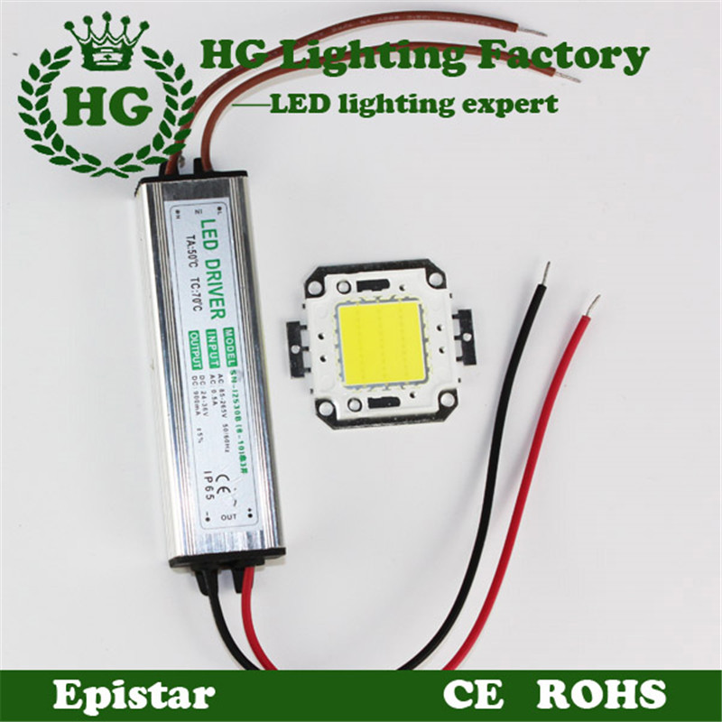 cheapest 10W 20W 30W 50W 100W COB High Power RGB LED chip led flood light chip+LED power supply floodlight driver - Hagood Technology Co., Ltd store