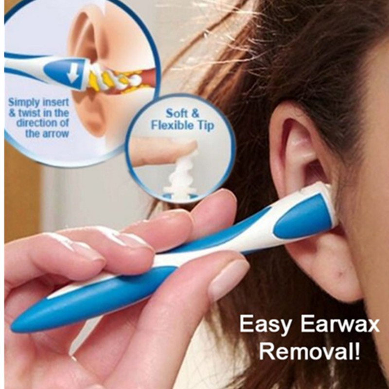 1 Set Rotary Ear Cleaning Oil Cleaner Ear Pick Ear Cleaning Device Ear Wax Cleaning Tools
