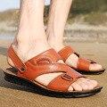 Zapatos de hombre 2016 nuevos mens del verano flip flop de las sandalias para hombre zapatillas sandalia masculina calza a hombres sandalias