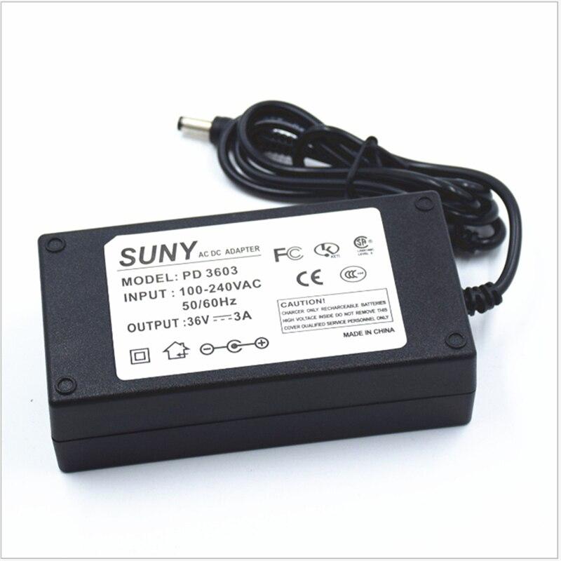 100-240Vac entrada, 36 v 3A 108 w adaptador de alimentação, 5.5*2.5, 5.5*2.1 port CE FCC transformador, levou fonte de alimentação com AU/EUA/UE/UK Plug