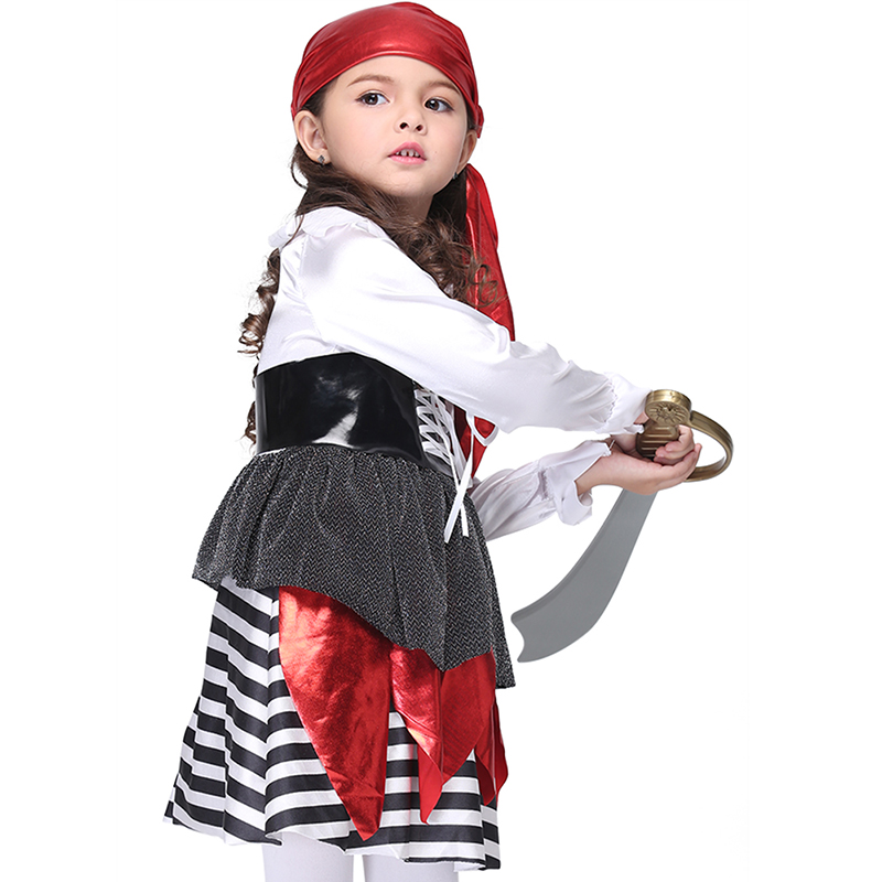 2018 New Cosplay Costume Girls Halloween Pirate Costumes for Children Kids Performance Clothes Anime Pirate Cosplay Outfits -in Girls Costumes from Novelty ...  sc 1 st  AliExpress.com & 2018 New Cosplay Costume Girls Halloween Pirate Costumes for ...