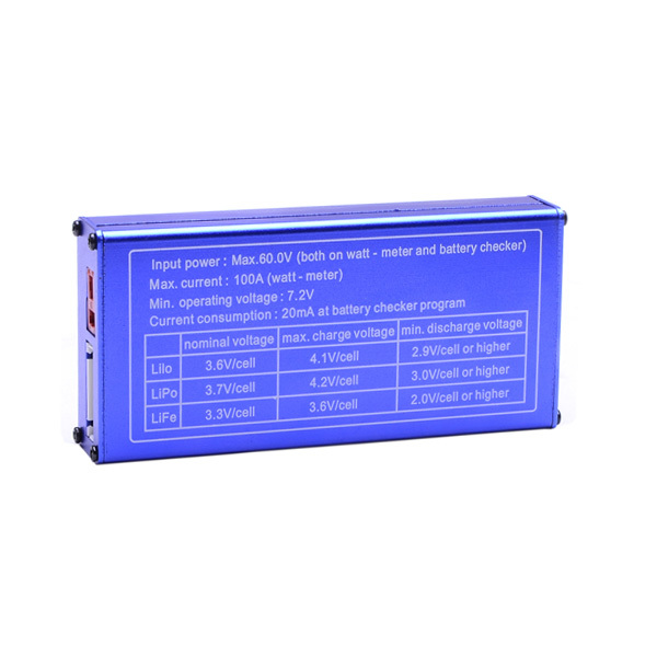 Lipo Batterie Checker Leistungsprüfstand Wattmeter Power Meter Servo ...