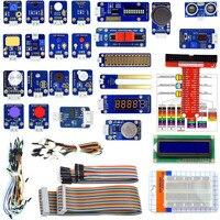 Adeept kit de módulos sensores 24 polegadas  para raspberry pi 3 2 b/b + com tutorial
