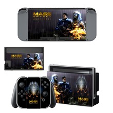 Mass Effect Androme Skin Sticker For Nintendo Switch Console, Controller, Dock