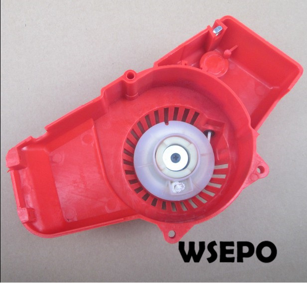 OEM Quality! Pull Recoil Start Assy for 1E40F-6 40.2CC 02 Stroke Air Cooled Small Gas Engine Applied for Brush Cutter/Trimmer top quality pull recoil starter coil spring for ms170 small gasoline 02 stroke chainsaw wood spliter log cutting machine