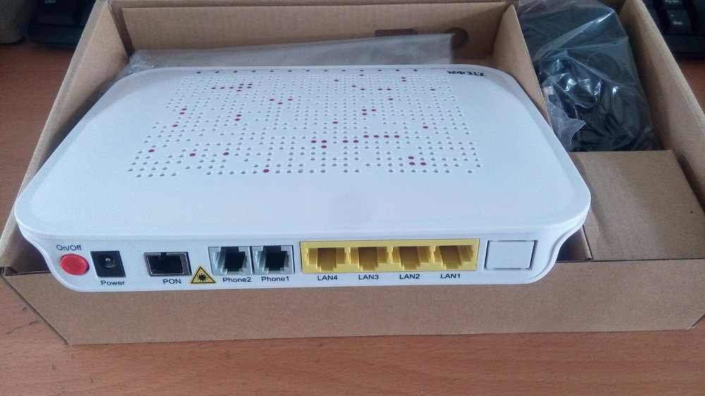 Detail Feedback Questions about Hot Sales ZTE F660 GPON ONT 4 LAN +