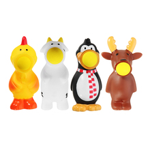 Animal Doll Squeeze Out Shoot Ball Stress Relief Vent Toy Funny Gift With Packing Practical Jokes Children Novelties Toys недорго, оригинальная цена