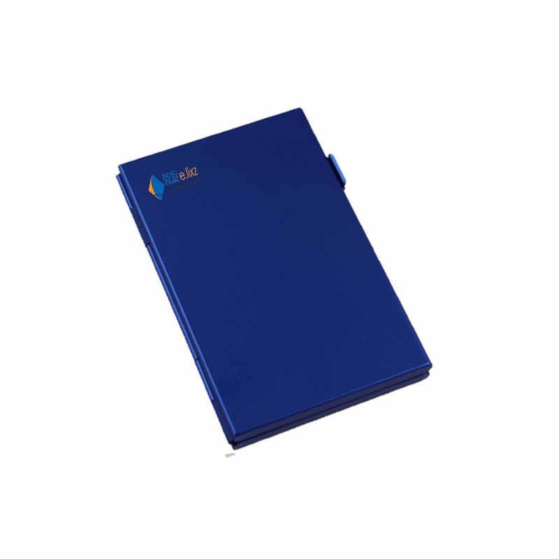 2017 argent rouge nouvelle boîte de rangement en aluminium sac étuis de carte mémoire porte-monnaie grande capacité pour 2 * pour Sd Cf 8 * microsd Card1 * sd