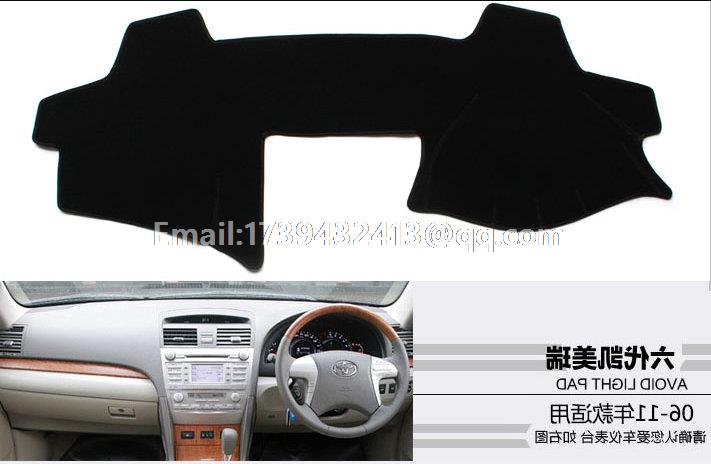 for <font><b>toyota</b></font> camry xv40 2006 <font><b>2007</b></font> 2008 2009 2010 2011 generation 6 dashmats car-styling accessories dashboard <font><b>cover</b></font> RHD image
