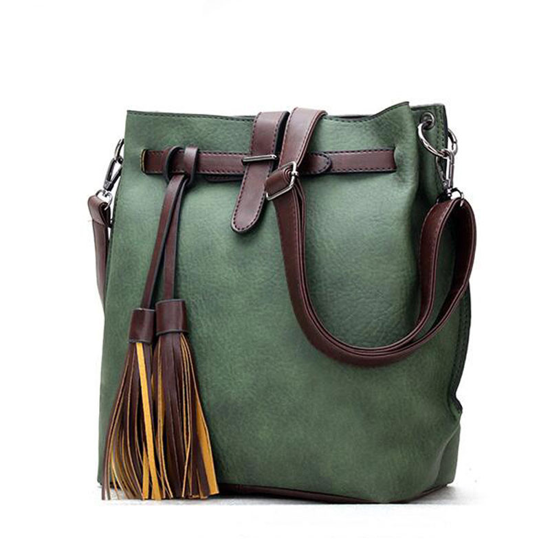 Wine Vintage Dell'unità Pelle Secchio green Del Bag brown Modo Di Elaborazione Girl Messaggero Red grey Caldo black Crossbody In Delle Spalla Borse Nappa Donne Della Cuoio Progettista Nero A gqXCwX76d
