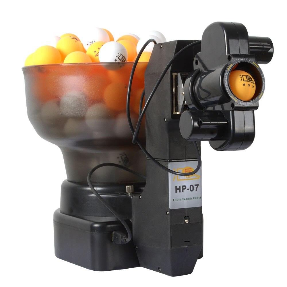 Ping Pong Table Tennis Robot Macchine Palla, palla macchina automatica 36 rotazioni della casa pratica su Vestito della macchina di 40mm Sfera