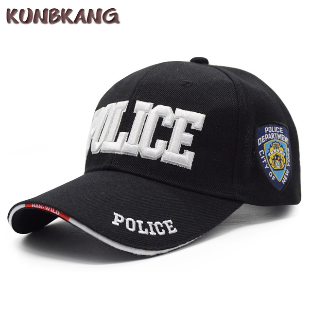 7afd62e29c8 New Brand Police Baseball Cap Men Embroidery Army Tactical Snapback Caps  Gorras Adjustable Unisex Casual SWAT