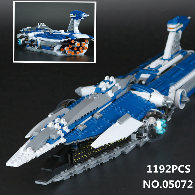 1192pcs Malevolence Warship Model Star Bricks 05072 Wars series Building Blocks Toys for Children Compatible with Legoes 9515 single sale star wars superhero orca shark series building blocks model bricks toys for children brinquedos menino