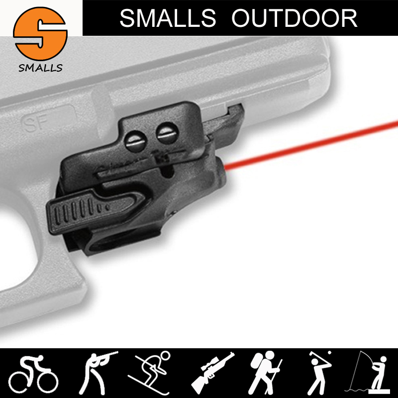 CT style CMR-201 Rail Master Laser Sight mini red laser sight with Universal Mount fits pistol handgun for hunting