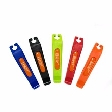 Boy Bike Tire Lever Tools Set of 2 Color Bike Repair Tool bike hand tire lever bead jack lever tool for hard to install bicycle tires removal clamp for difficult bike tire cycling tools