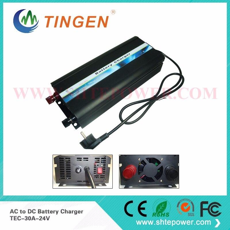 Plomb acide AC 220 V 230 V 240 V à DC 24 V 30A chargeur de batterie de voiture