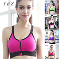 YBZ Women Bras Top Wireless Padded Push Up Bra Breathable Girl Brassiere Underwear Adjusted-Straps Female Cropped Top B19
