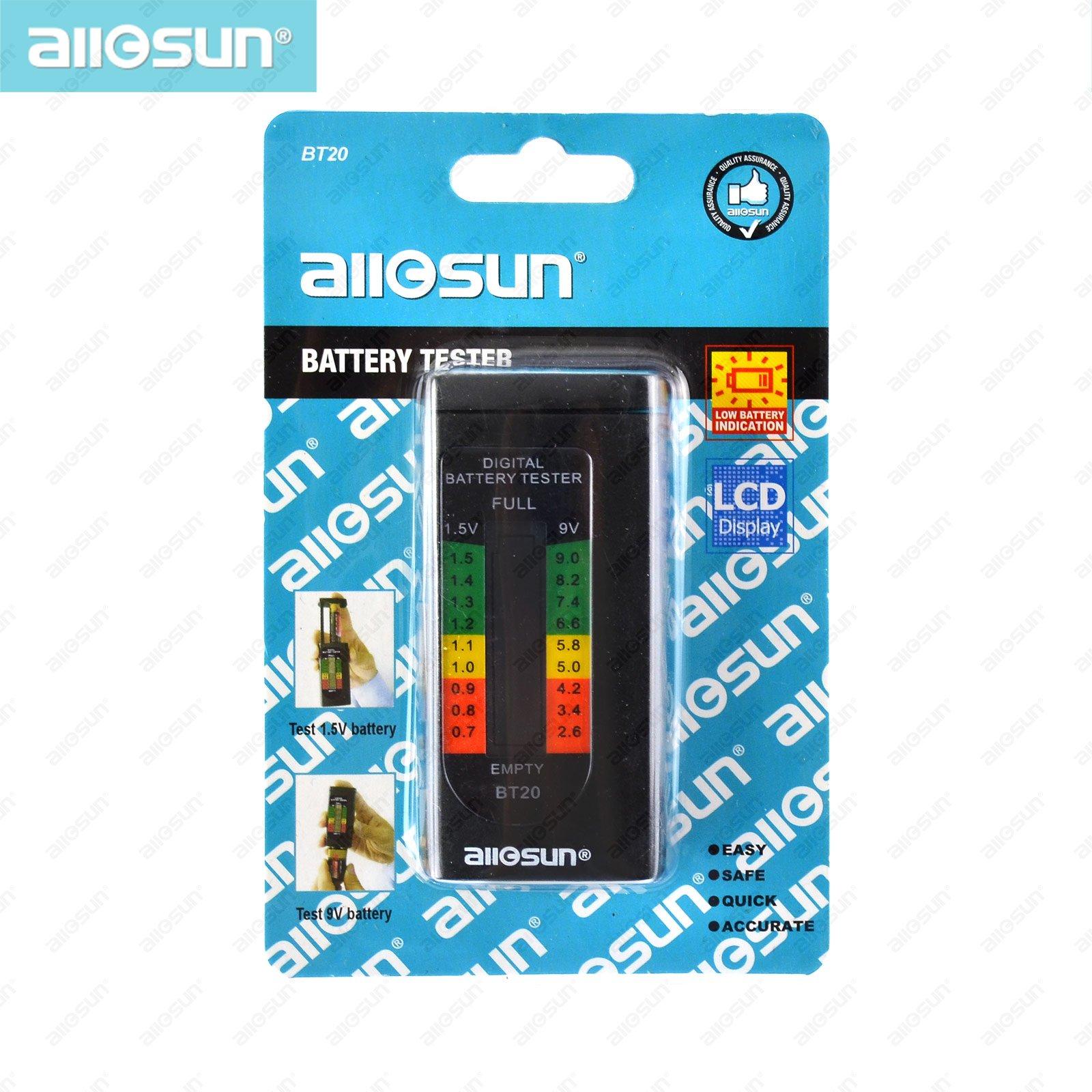 Tester di batteria digitale domestica ALL SUN BT20 vendita calda 1.5V - Strumenti di misura - Fotografia 6