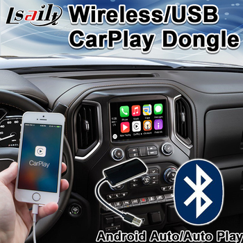 Wireless/USB CarPlay Dongle for Lexus, Nissan,Pathfinder, Ford, Mazda, toyota etc. support Android auto , auto play by Lsai image