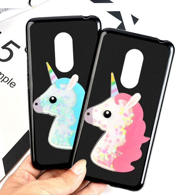 Cute Squishy Cat Phone Case For LG Stylo 4 3D Unicorn Quicksand Liquid Soft  Silicone Case 21f79d30d
