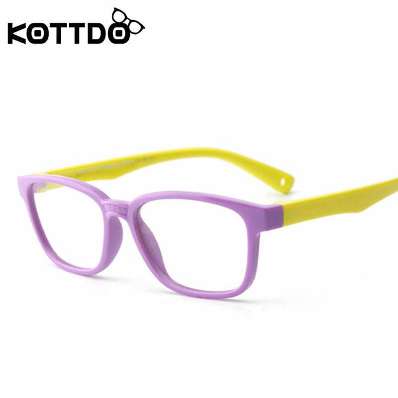ecdf50f1aea6 ... KOTTDO Children Glasses Frame Baby Classic Kids Fashion Eyewear Kids  Eyeglasses boy girls glasses gift UV400