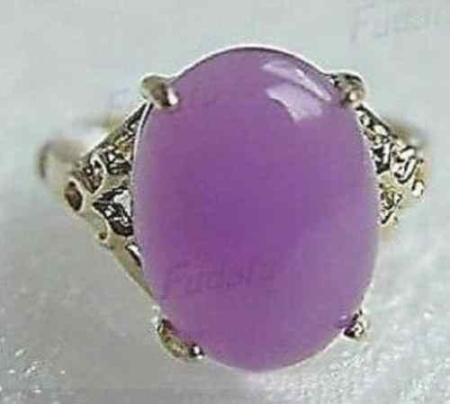 ร้อนขายรูปแบบใหม่>>>>สีม่วงหินใหม่เงินชุบแหวนผู้หญิงขนาด