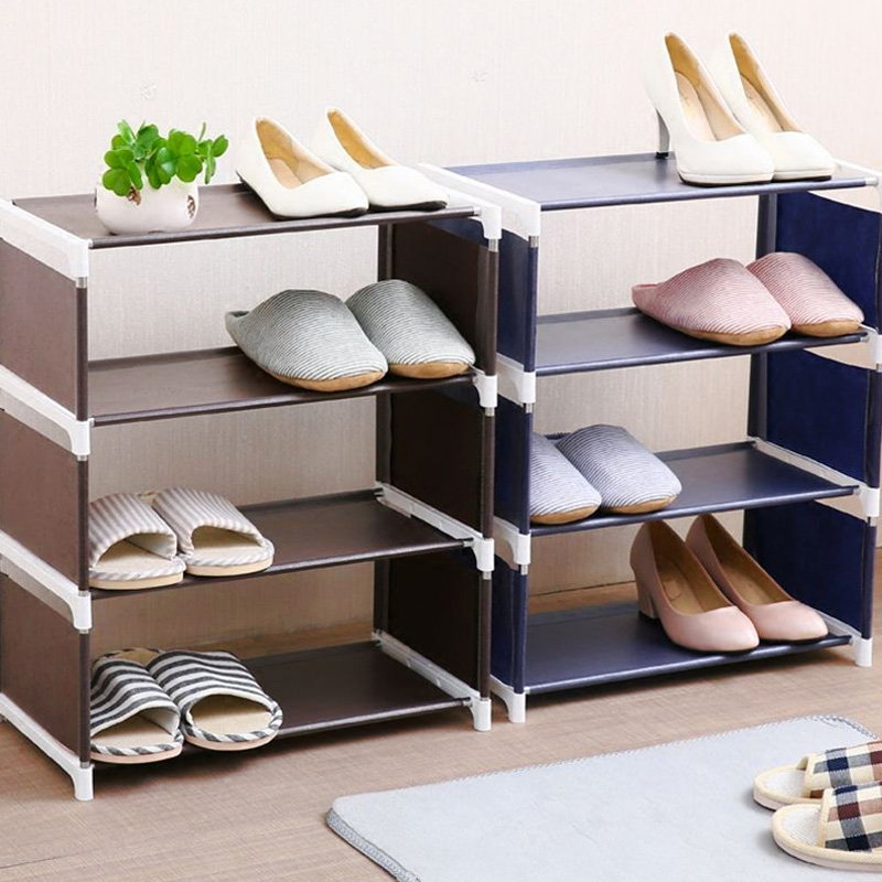 Multi-Storey Convenient Shoe Cabinet Assembly Shoe Shelf for Shoe Storage Home Organization Shoe Rack Housekeeping